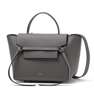 celine belt bag grey